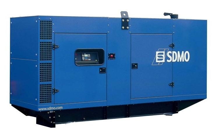 Дизельная электростанция SDMO V220 K Silent, 400/230В, 176 кВт