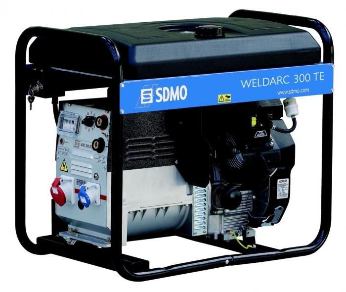 Сварочный бензиновый агрегат SDMO Weldarc 300 TE, 400/230В, 6 кВт