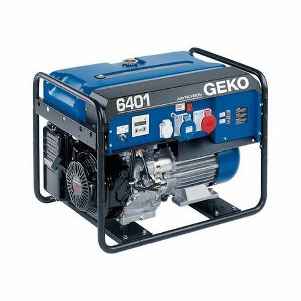 Бензогенератор Geko 6401 ED-AA/HHBA 230/400 В, 6.1 кВт