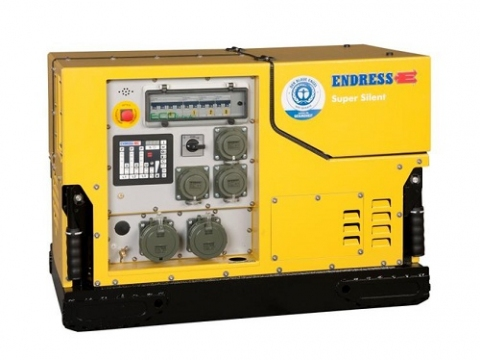Бензиновый электрогенератор ENDRESS ESE 808 DBG ES DIN Silent