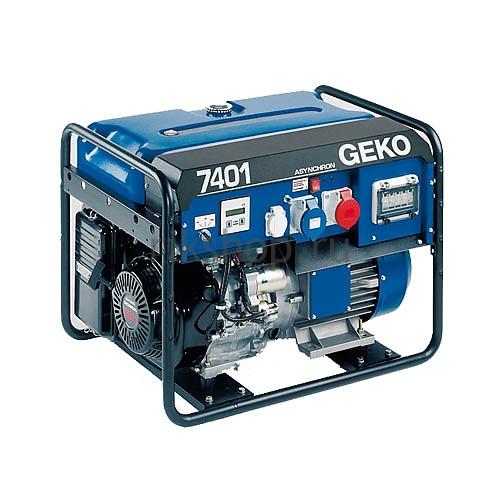Бензогенератор Geko 7401 ED-AA/HEBA 230/400 В, 5.9 кВт