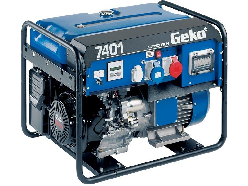 Бензогенератор Geko 7401 E-AA/HEBA 230 В, 5.8 кВт