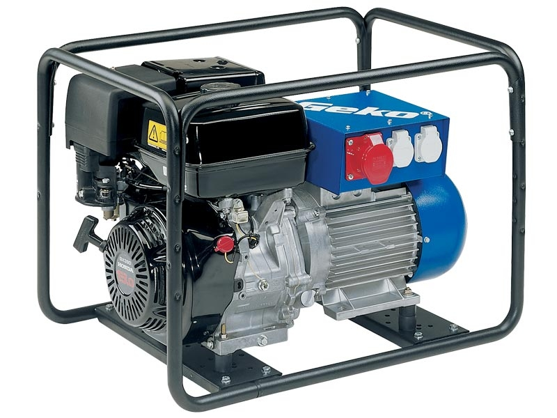 Бензогенератор Geko 6400 ED-A/HHBA 400/230В, 5.9 кВт