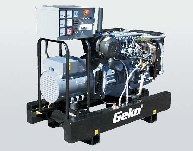 Дизельная электростанция Geko 460003 ED-S/DEDA 230/400 В, 44 кВт