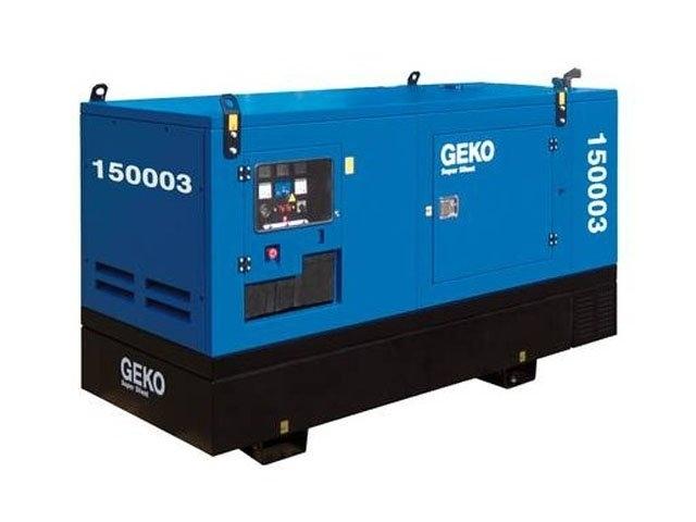 Дизельная электростанция Geko 150003 ED-S/DEDA S 230/400 В, 120 кВт