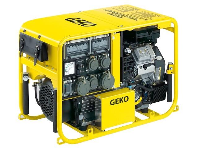 Бензогенератор Geko 8000 ED-AA/SHBA 230/400 В, 6.4 кВт