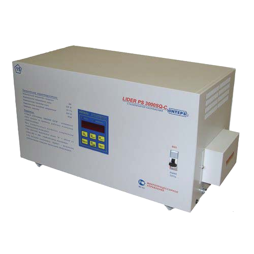 Стабилизатор напряжения Lider PS3000SQ-C-25
