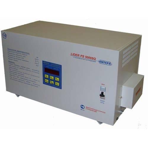 Стабилизатор напряжения Lider PS5000SQ-E