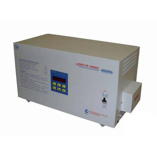 Стабилизатор напряжения Lider PS7500SQ-E