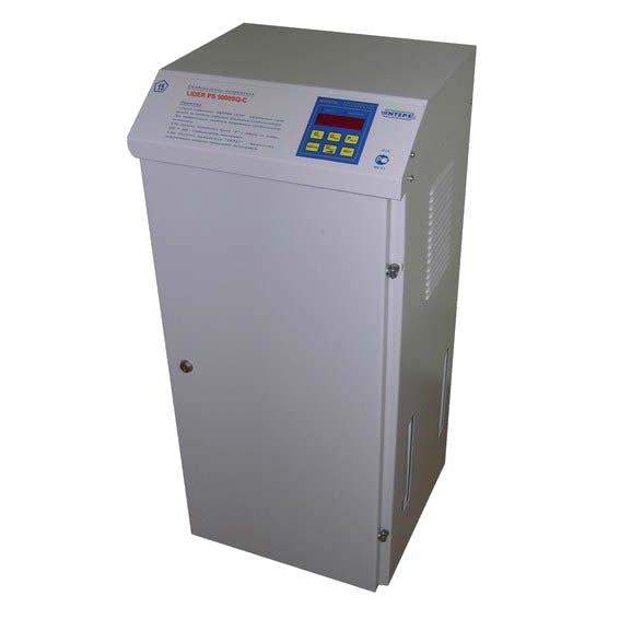Стабилизатор напряжения Lider PS5000SQ-C-40
