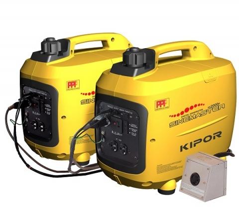 Бензогенератор инверторный Kipor IG2000p