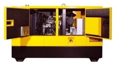 Дизельный генератор Gesan DPAS 35E MF LS