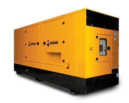 Дизельный генератор Gesan DPAS 50E AB
