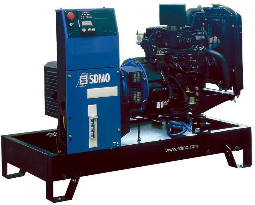 Дизельная электростанция SDMO XP-T9HK 400/230В, 7 кВт
