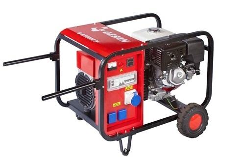 Бензогенераторная установка Gesan G8000 H rope