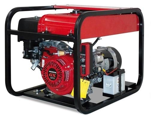 Бензогенераторная установка Gesan G5000 H L rope