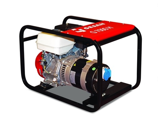 Бензогенераторная установка Gesan G 7000 H L auto