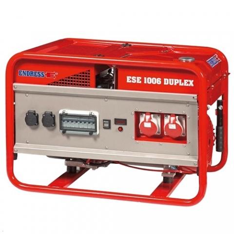 Бензиновый электрогенератор ENDRESS ESE 1006 SG-GT ES DUPLEX