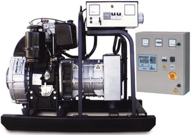 Дизельная генераторная установка Gesan L 20 MF auto