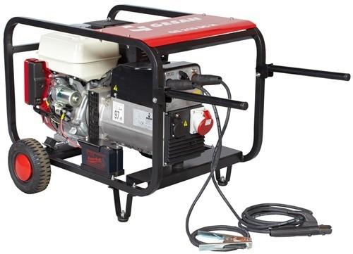 Сварочная генераторная установка переменного тока Gesan GS 200 AC H rope