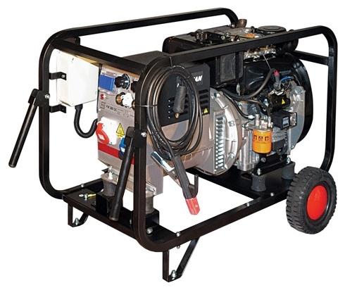 Сварочная генераторная установка переменного тока Gesan DS 200 L rope