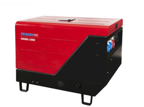 Дизельный электрогенератор ENDRESS ESE 1006 DLS-GT ES ISO DI