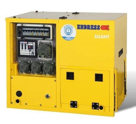 Бензиновый электрогенератор ENDRESS ESE 958 DHG ES DIN Silent