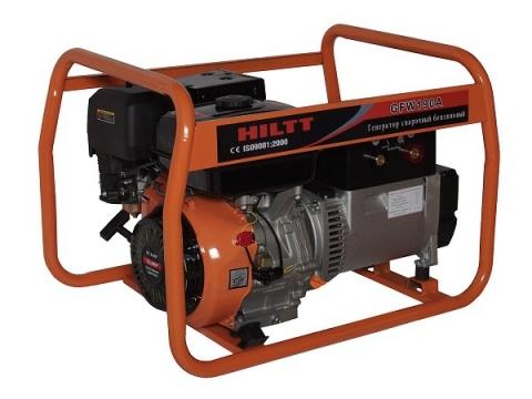 Бензиновый сварочный генератор HILTT GF190AE (HILTT GFW190A)