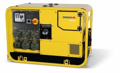 Бензиновый электрогенератор ENDRESS ESE 1107 DBG ES DIN