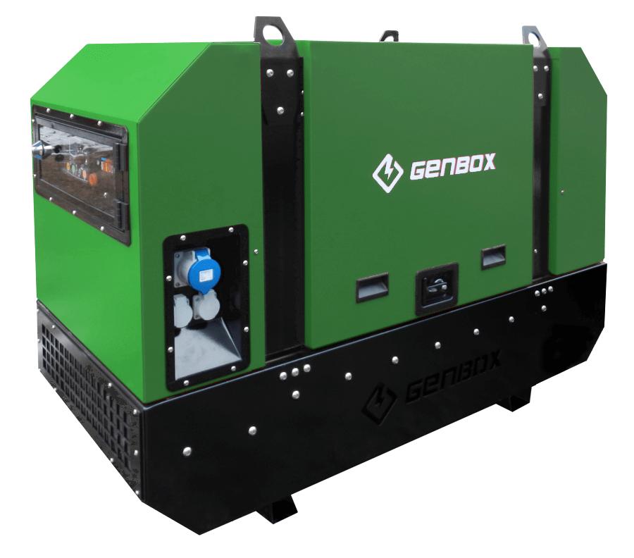 Дизельный генератор GENBOX DE10T