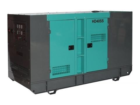 Дизель-генератор HILTT HD40SS3Cum