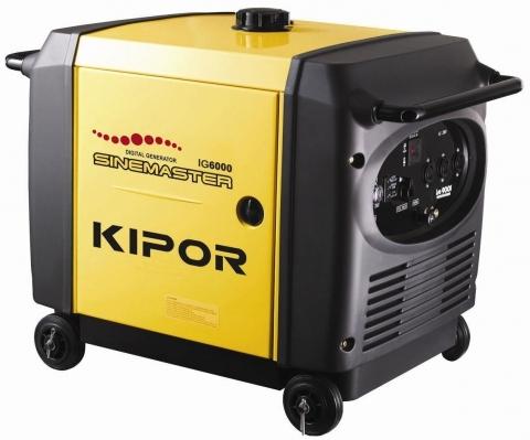Бензогенератор инверторный Kipor IG6000