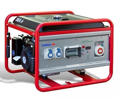Бензиновый электрогенератор ENDRESS SEA 6