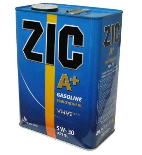 Моторное масло ZIC A+ для бензиновых двигателей 5W-30 - 1007
