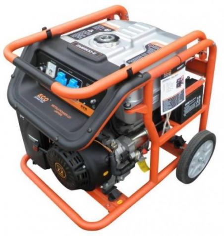 Бензиновый генератор ECO ZM7500-E - 1040