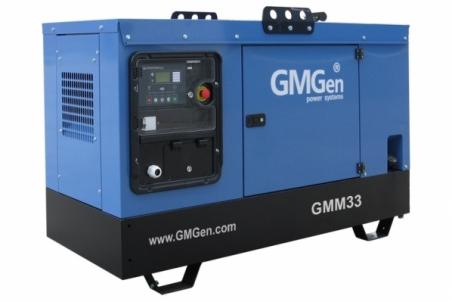 Дизельная электростанция GMGen GMM33S - 1088
