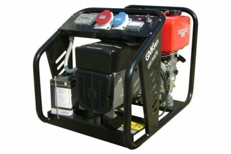 Дизель-генератор GMGen GMY7000TE - 1203