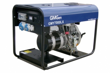 Дизель-генератор GMGen GMY7000LX - 1211