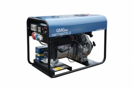 Дизель-генератор GMGen GMY7000TELX - 1212