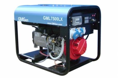 Дизель-генератор GMGen GML7500LX - 1214