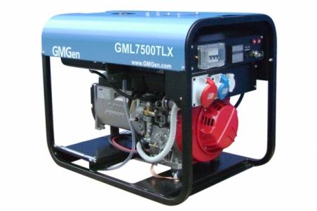 Дизель-генератор GMGen GML7500TLX - 1216
