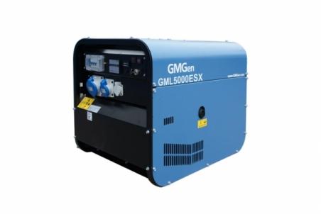 Дизель-генератор GMGen GML5000ESX - 1228