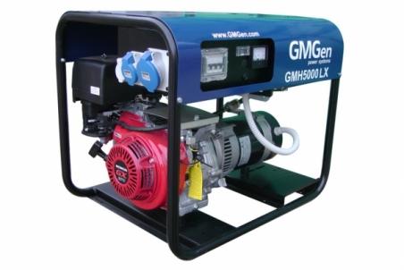 Бензогенератор GMGen GMH5000LX - 1255