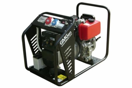 Дизельный сварочный генератор GMGen GMSD170LE - 1281