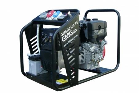Дизельный сварочный генератор GMGen GMSD210LTE - 1284