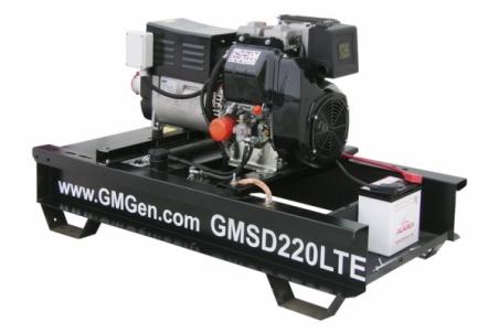Дизельный сварочный генератор GMGen GMSD220LTE - 1285