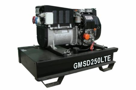 Дизельный сварочный генератор GMGen GMSD250LTE - 1286