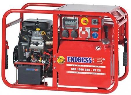 Бензиновый электрогенератор ENDRESS ESE 1006 DBS-GT - 1436