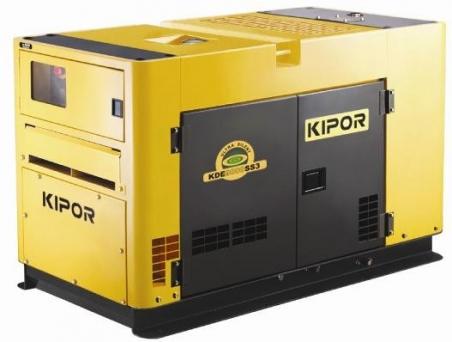 Дизельный генератор KIPOR KDE13SSP3, 400/230В, 8.5 кВт - 230