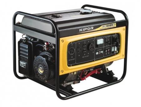 Бензогенератор KIPOR KGE6500E, 230В, 5 кВт - 244